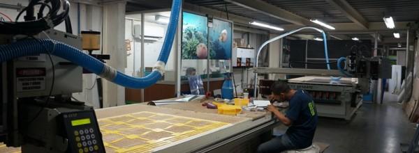 Área de corte / maquina CNC