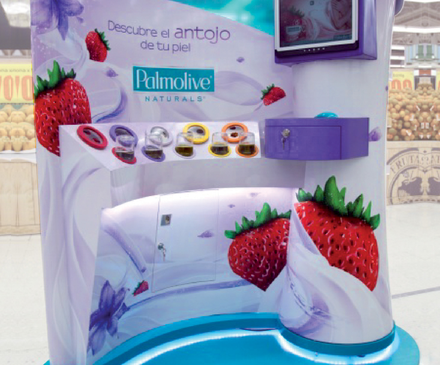 Visual Merchandising Sensorial PALMOLIVE
