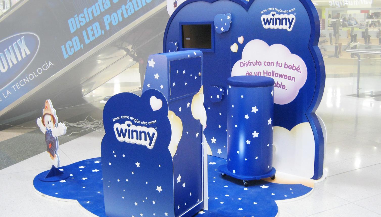 Visual Merchandising Sensorial Winny