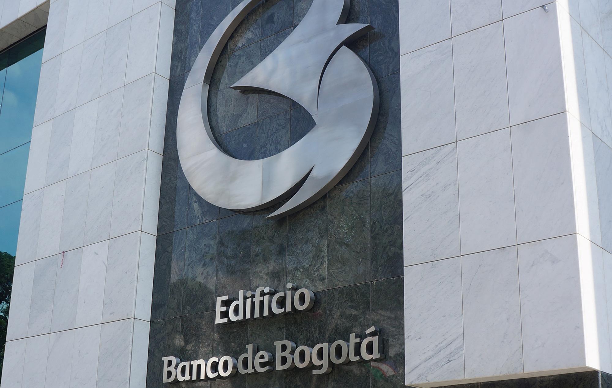 Avisos-Letras Individuales Banco de Bogota