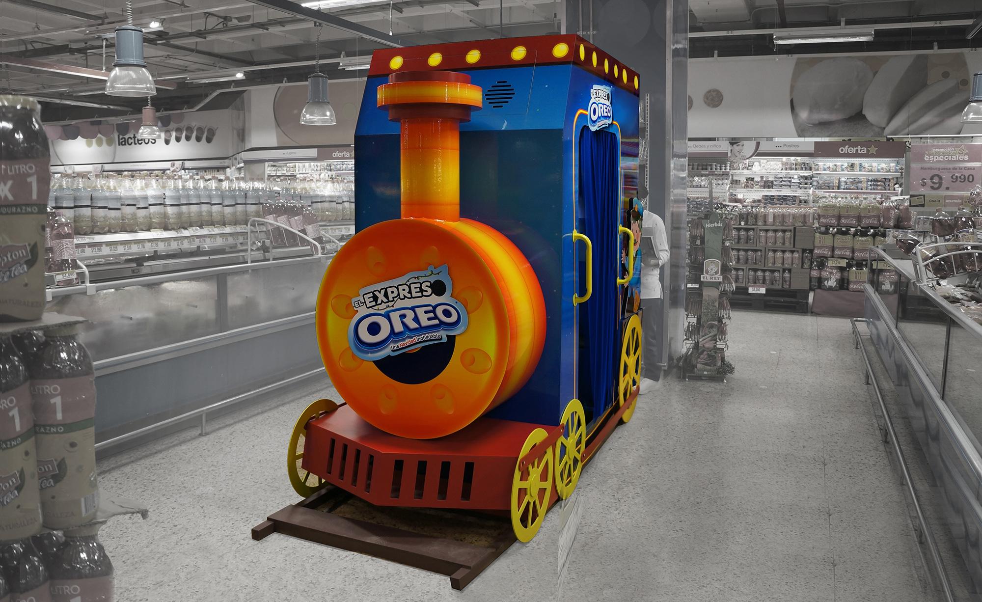 Visual Merchandising Sensorial OREO